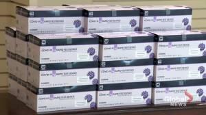 New Brunswick distributing COVID-19 rapid test kits to some communities (01:39)