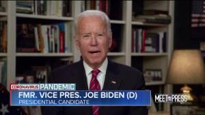 Coronavirus outbreak: Joe Biden criticizes Trump's COVID-19 response