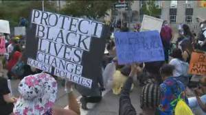 Peaceful protesters gather near Ontario's legislature