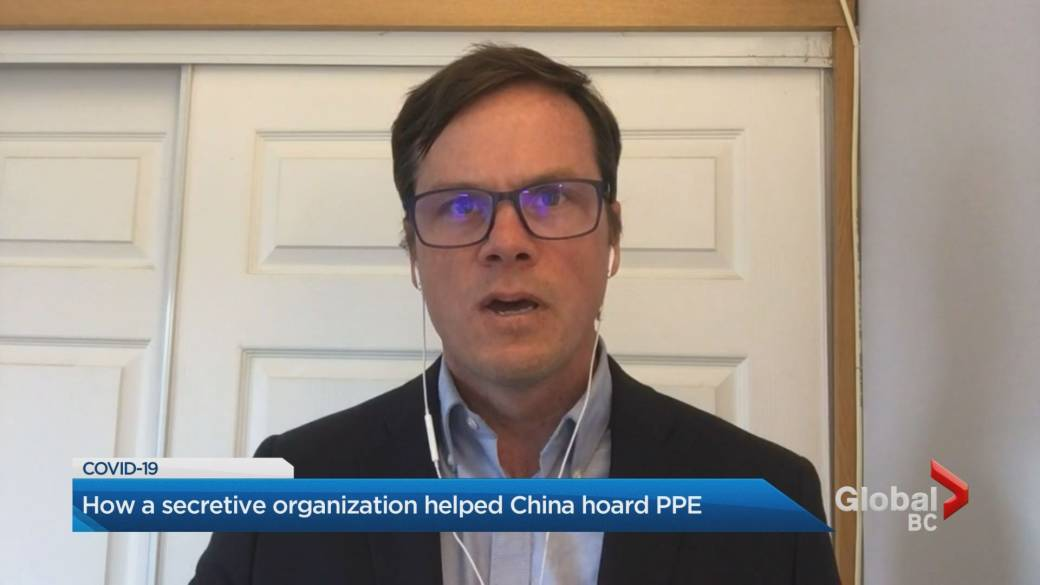 Click to play video 'Report says China hoarded Canadian PPE in early days of COVID-19 outbreak'