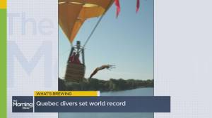 What's Brewing? Quebec diver set world record & a viral ketchup hack (02:00)