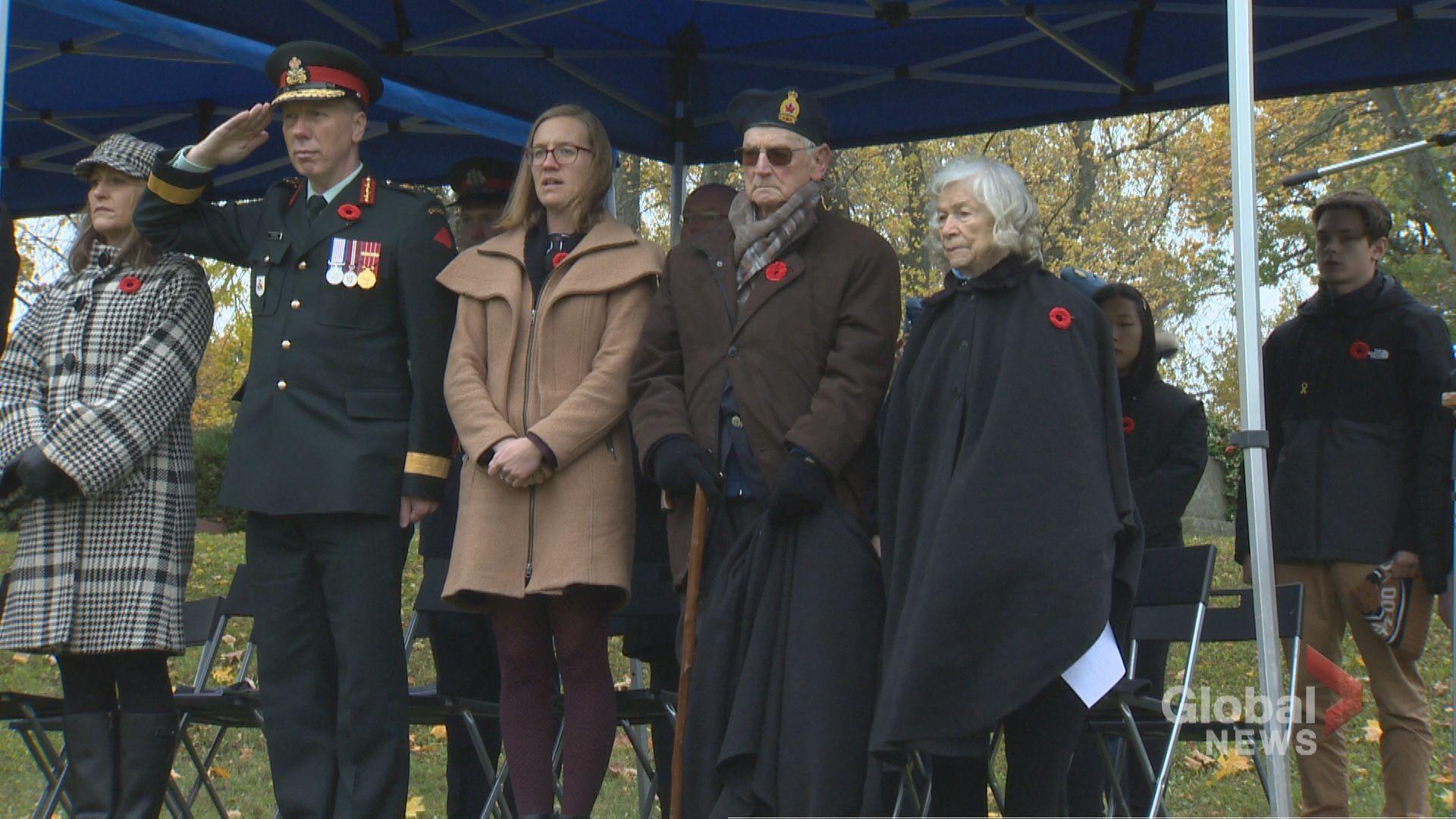 Cambridge Ont. vet speaks about time spent in prisoner of war camp