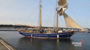 Sailing vessel TS Playfair makes Hamilton, Ont. its new home
