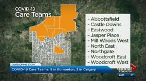 Alberta sending COVID-19 care teams to hard-hit communities in Edmonton and Calgary (02:48)