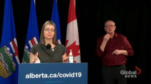 COVID-19: Alberta working on framework for the professional film industry (01:06)