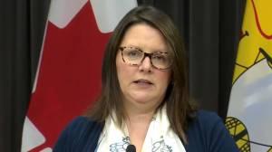 Coronavirus: New Brunswick health official discourages non-essential travel to Halifax (01:04)