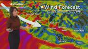 Play video: Wind warning for B.C.'s South Coast