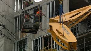 Crews make big gains on crane removal in Halifax