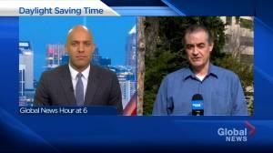 Calgary psychology professor details how permanent Daylight Saving Time would impact Alberta (03:29)