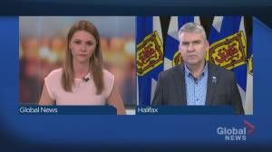 Premier Stephen McNeil speaks about the situation at Northwood in Halifax