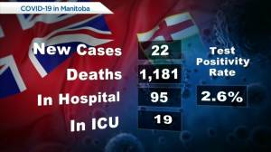 Manitoba's COVID-19/vaccine numbers – August 3 (00:53)