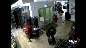 Edmonton men's wear shop Mr. Derk devastated by $100K clothing theft (02:03)