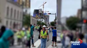 Part of New Orleans Hard Rock Hotel under construction collapses