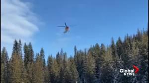 Lost teen snowmobiler found by Okanagan search crews