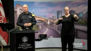 Calgary emergency chief says carpooling is OK but try to physically distance