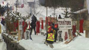 Pipeline protests continue to impact railway travelers in key parts of Canada