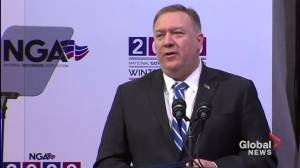 Pompeo urges U.S. state governors to be cautious in business with China