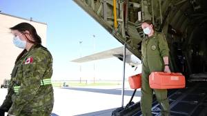 Operation LASER plane to help transport Manitoba ICU patients (01:17)