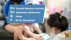 Canadian kids are getting a failing grade when it comes to physical activity (01:26)