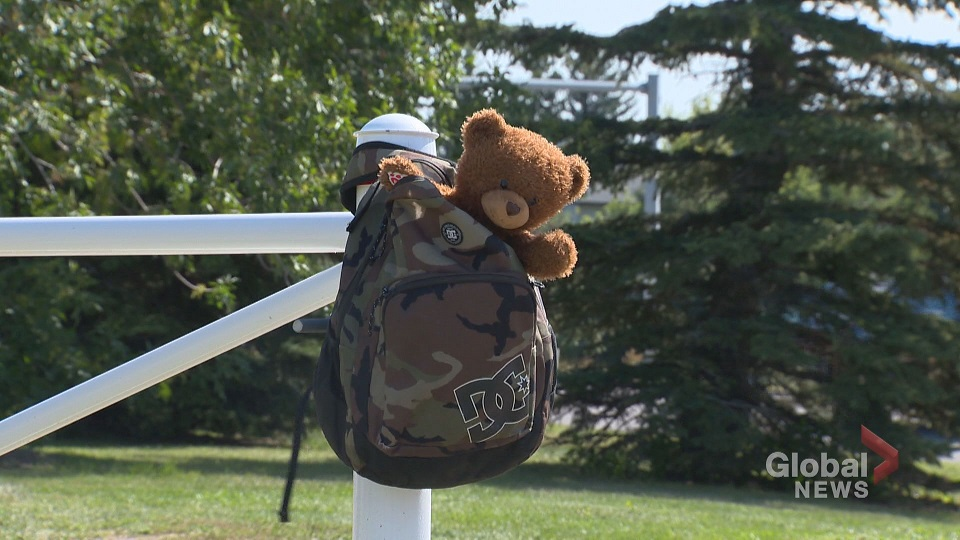 Child's lost teddy, with dead mother's recorded message, discovered in Airdrie