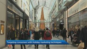 Targeting consumers with holiday marketing techniques