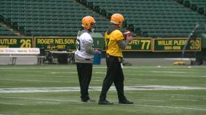 Jaime Elizondo hired as the new head coach of the Edmonton Football Team (01:33)