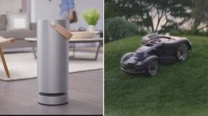 This year's hot 'spring tech' covers everything from air purifiers to robotic mowers (04:22)