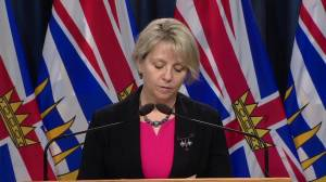B.C. reports 619 new cases of COVID-19, another 16 deaths (02:24)