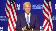 Play video: U.S. election: Biden says he's optimistic about results, careful not to declare premature victory