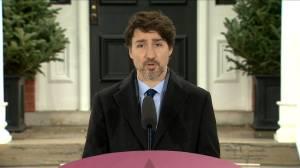 Coronavirus outbreak: Trudeau praises innovation 'supercluster'