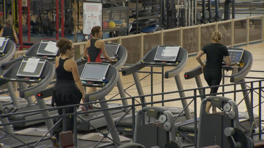 Click to play video 'Quebec gym owners, athletes in COVID-19 red zones brace for 2nd shutdown'