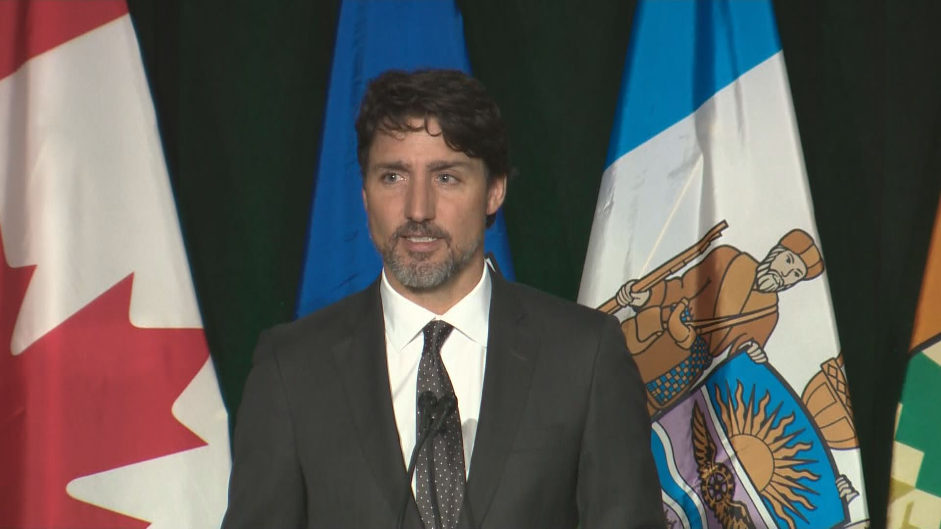 Justin Trudeau speaks at Edmonton memorial for Iran plane crash victims: 'I am so deeply sorry for your loss'