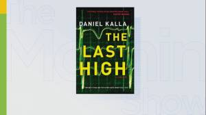 "Author Daniel Kalla's new book ""The Last High"""
