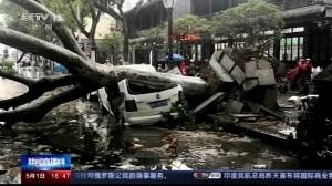 11 dead, thousands evacuated as extreme storm hits eastern China (00:33)
