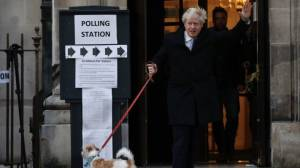 Exit polls suggest majority for Johnson in UK election