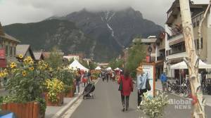 Quiet Canada Day in Banff as businesses struggle to stay open​