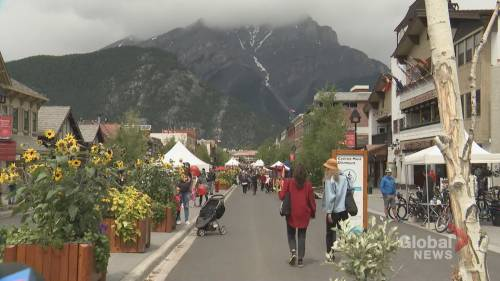 Quiet Canada Day in Banff as businesses struggle to stay open | Watch News Videos Online