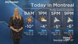 Global News Morning weather forecast: Monday December 16, 2019
