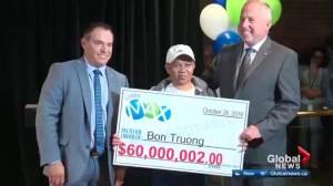 Edmonton man hits $60M jackpot