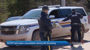 Policing expert criticizes RCMP response to N.S. shooting (01:51)