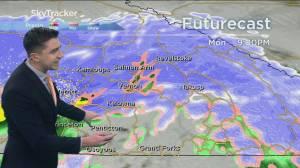 Kelowna Weather Forecast: November 16 (03:27)