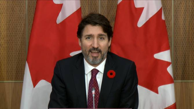 Click to play video: Trudeau says pressure on China to release the 'Two Michaels' will continue with Biden administration