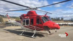 Helicopter used in West Kelowna search and rescue effort