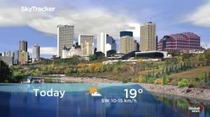Edmonton early morning weather forecast: Thursday, September 19, 2019
