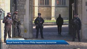 Preparations for royal funeral of Prince Philip, who's attending and changes to tradition (03:51)