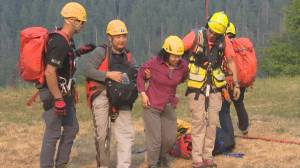 North Shore Rescue breaks emergency call record (03:06)