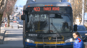 TransLink makes major changes to Metro Vancouver bus operations due to coronavirus pandemic (01:20)