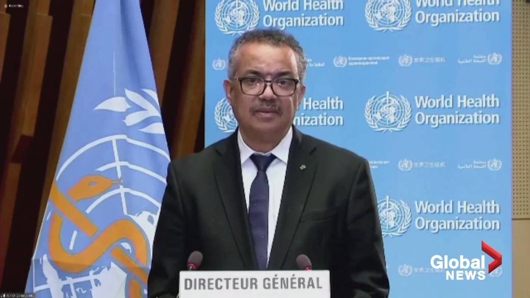 Click to play video 'Coronavirus: Vaccine nationalism puts world on brink of 'catastrophic moral failure,' says WHO chief'