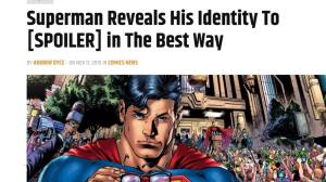 Superman announces his identity to the world
