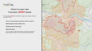 Evacuation order issued for District of Logan Lake (01:10)